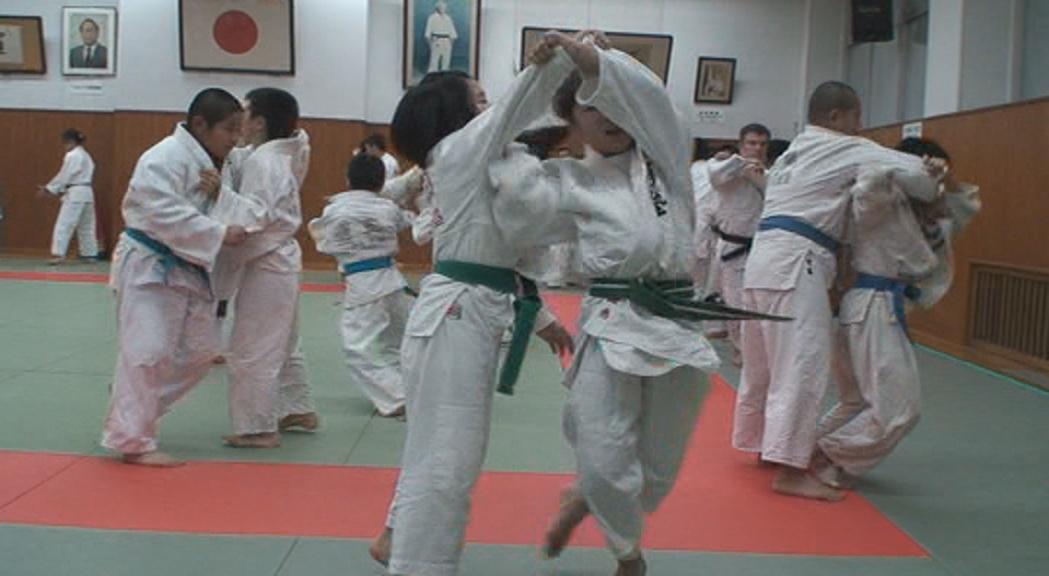 Как учат детей дзюдо в Японии.
